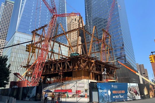 Holly Leicht on Michael Bloomberg's Role in the Performing Arts Center and WTC